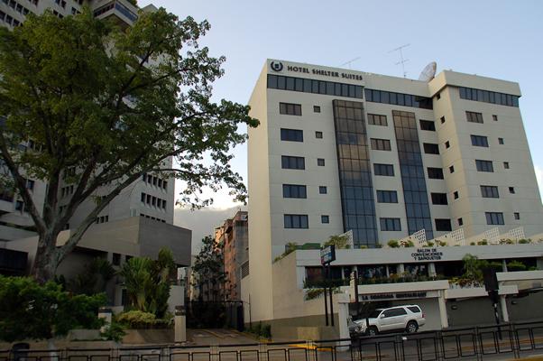 hotel shelter: